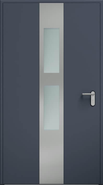 Dvere ECO BASIC, použitie, zasklenie | Antracit