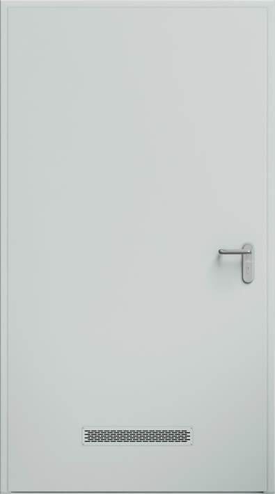 Dvere ECO, vetracia mrieížka 480x80 mm | RAL 7035