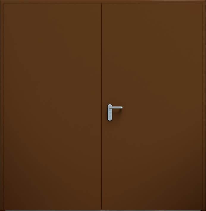 Dvojkrídlé dvere ECO | RAL 8014