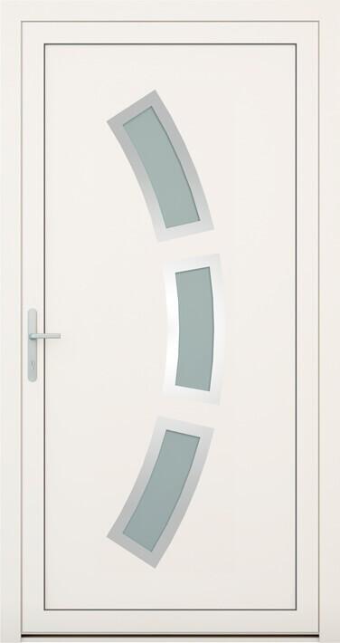 vchodové hliníkové dvere 133