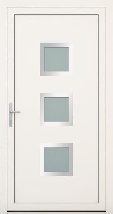 vchodové hliníkové dvere 136