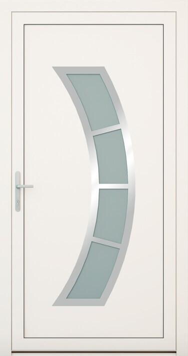 vchodové hliníkové dvere 143
