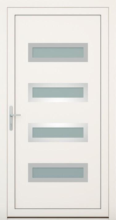 vchodové hliníkové dvere 144
