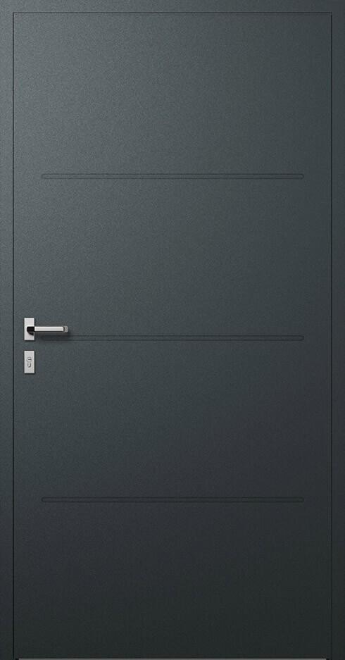 vchodové hliníkové dvere 311