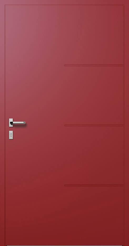 vchodové hliníkové dvere 314