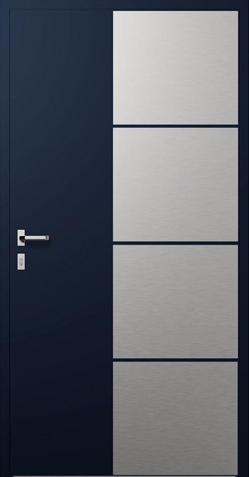 vchodové hliníkové dvere 316