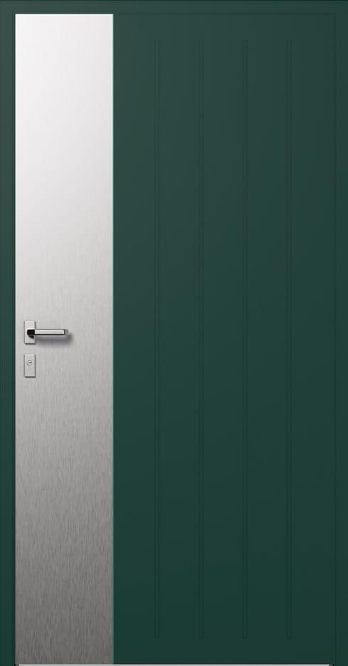 vchodové hliníkové dvere 317