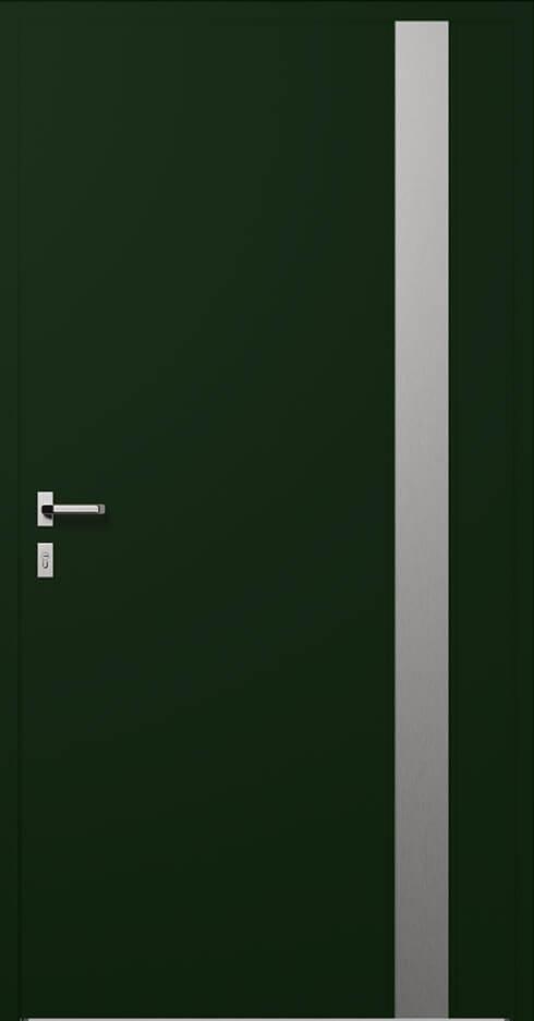 vchodové hliníkové dvere 318