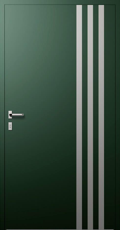 vchodové hliníkové dvere 319