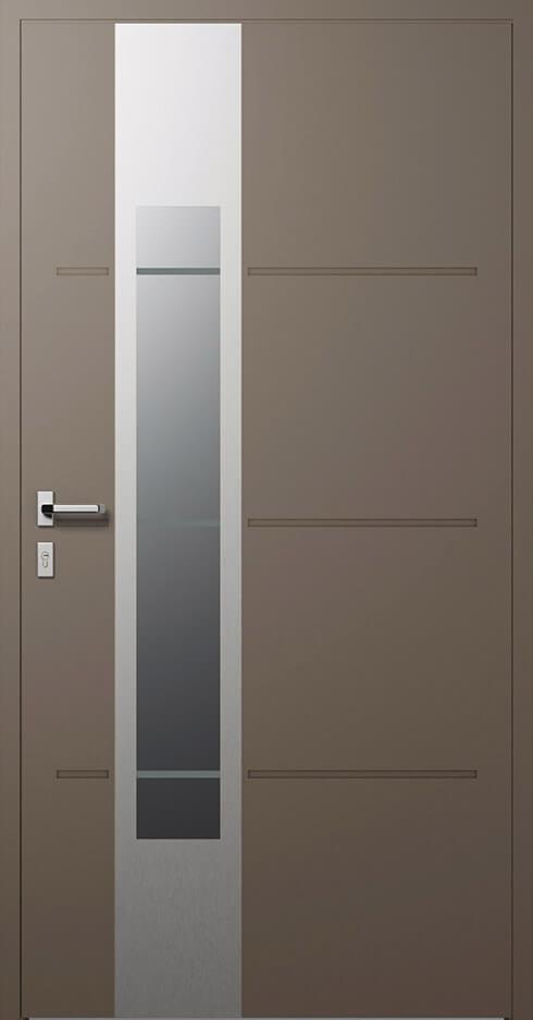 vchodové hliníkové dvere 321