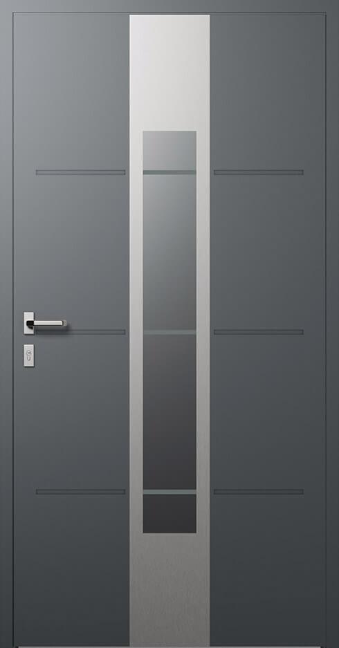 vchodové hliníkové dvere 322