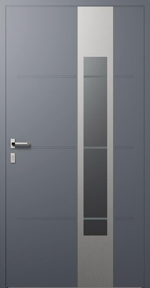 vchodové hliníkové dvere 323
