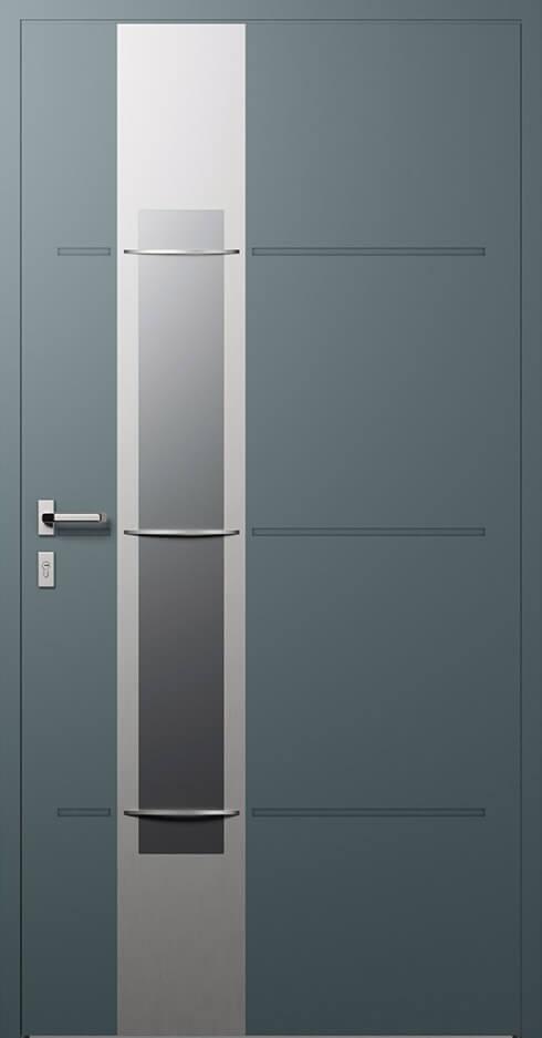 vchodové hliníkové dvere 324