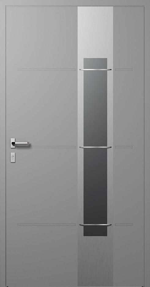 vchodové hliníkové dvere 326