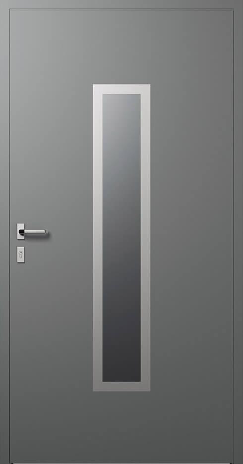 vchodové hliníkové dvere 331