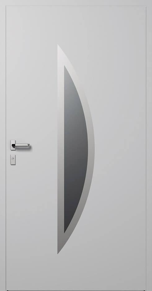vchodové hliníkové dvere 332