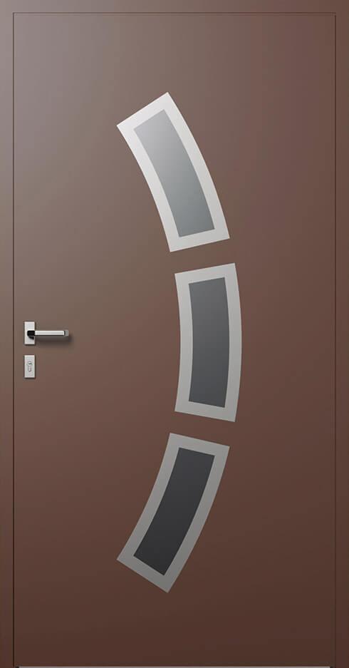 vchodové hliníkové dvere 333