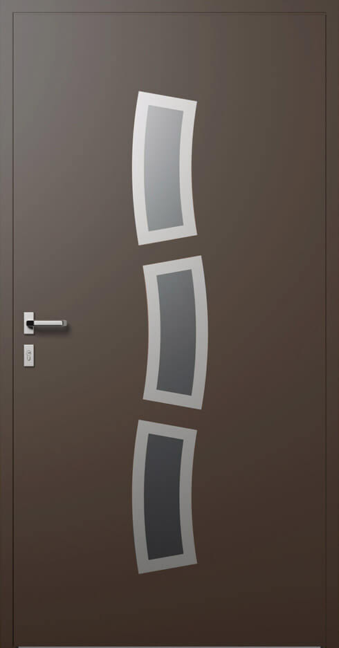 vchodové hliníkové dvere 334