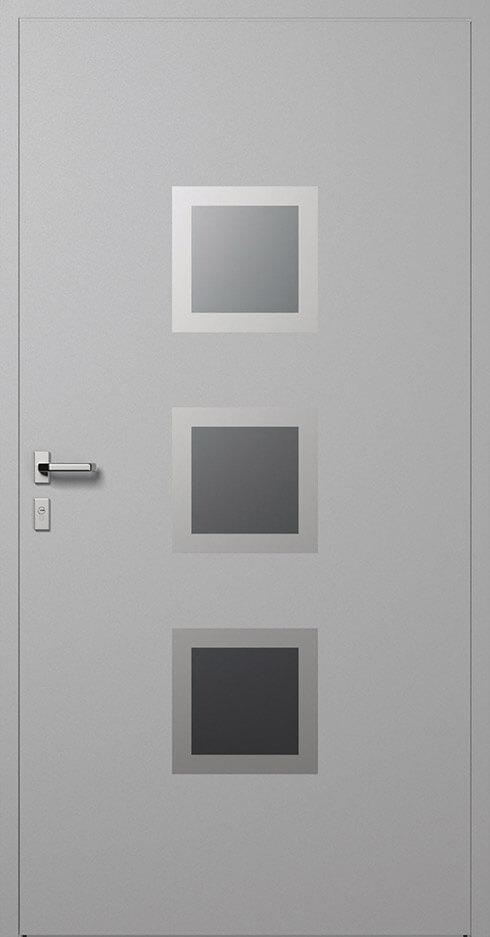 vchodové hliníkové dvere 336