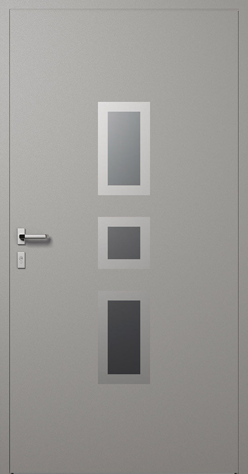 vchodové hliníkové dvere 337