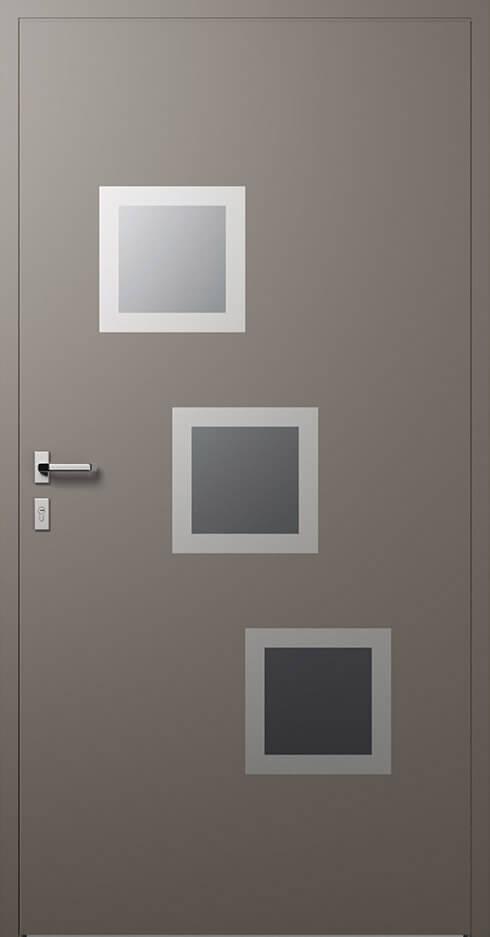 vchodové hliníkové dvere 340