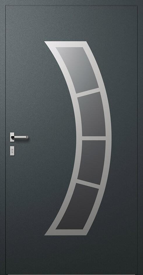 vchodové hliníkové dvere 343