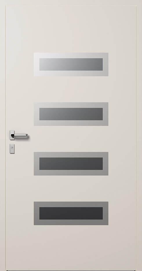 vchodové hliníkové dvere 344