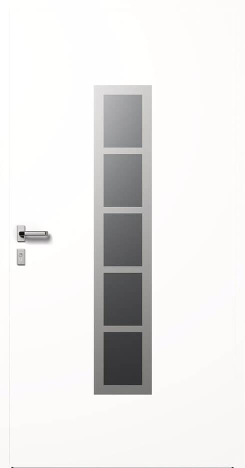 vchodové hliníkové dvere 345