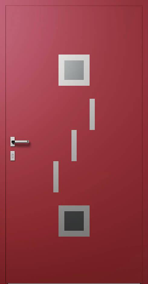 vchodové hliníkové dvere 346