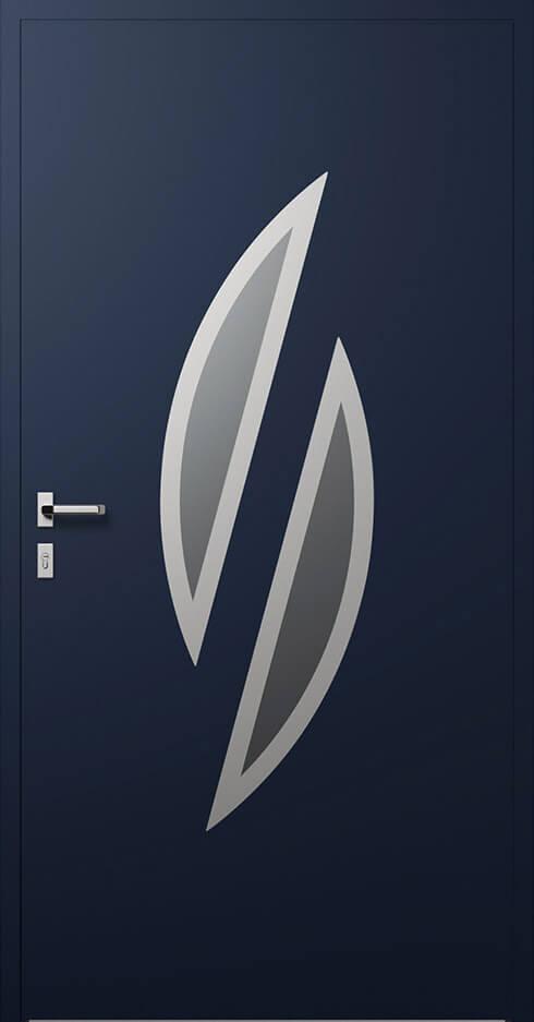 vchodové hliníkové dvere 348