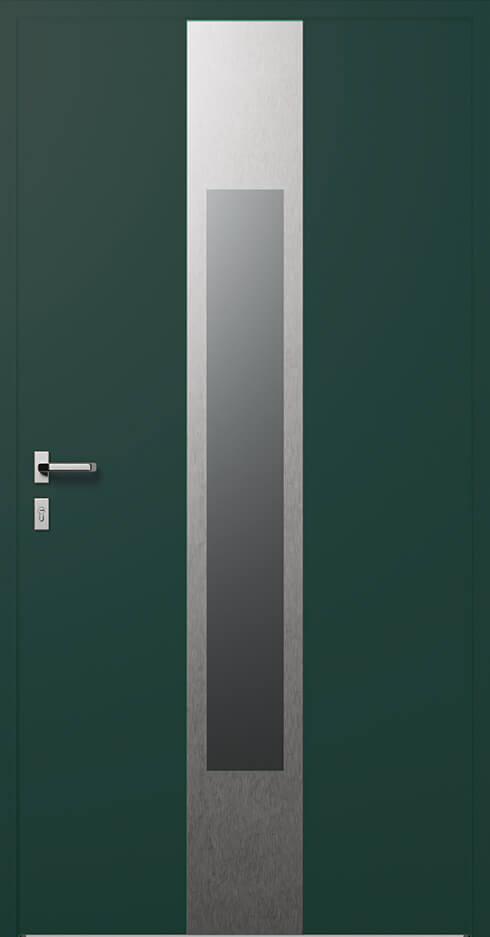 vchodové hliníkové dvere 349