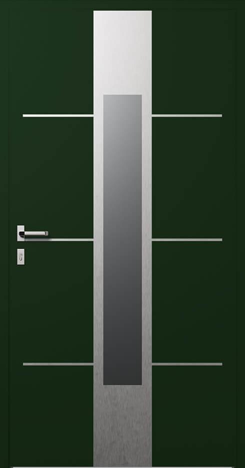 vchodové hliníkové dvere 350