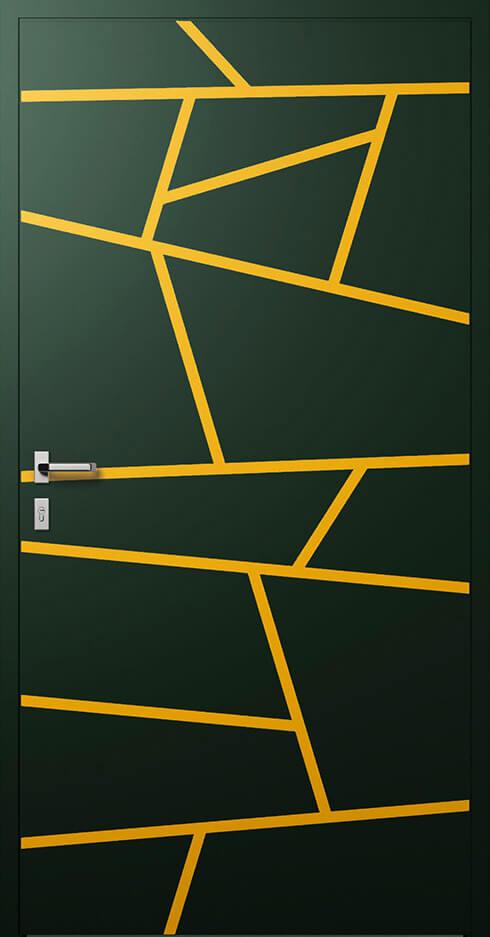 vchodové hliníkové dvere 360