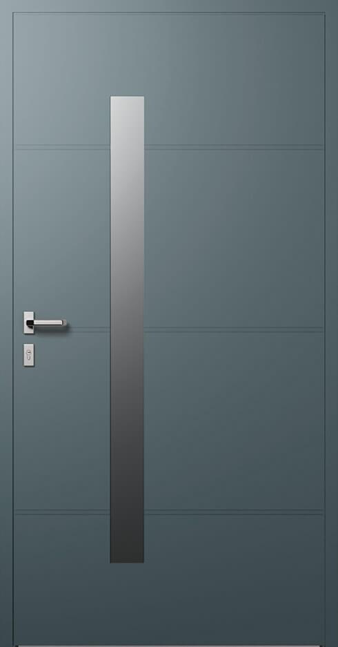 vchodové hliníkové dvere 411