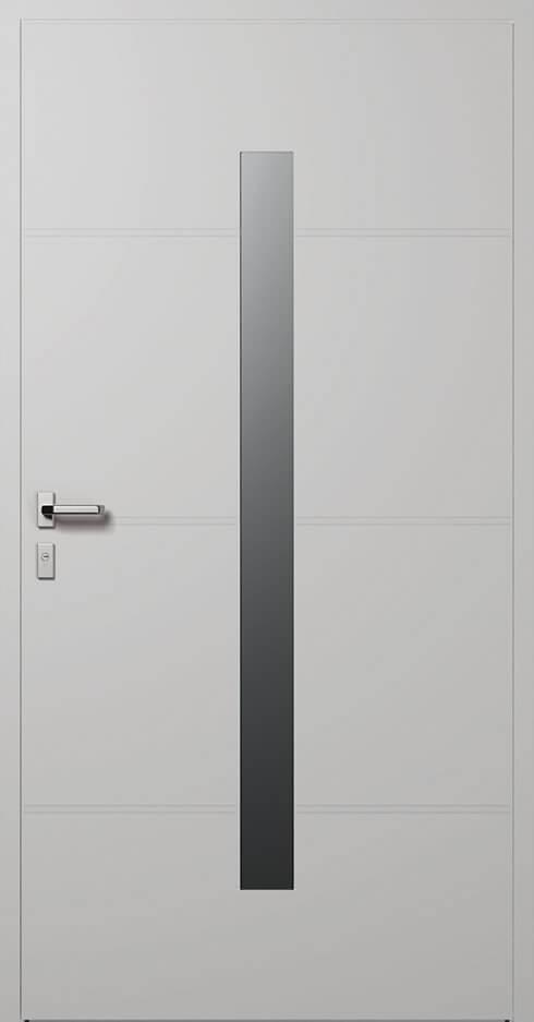 vchodové hliníkové dvere 41ľ