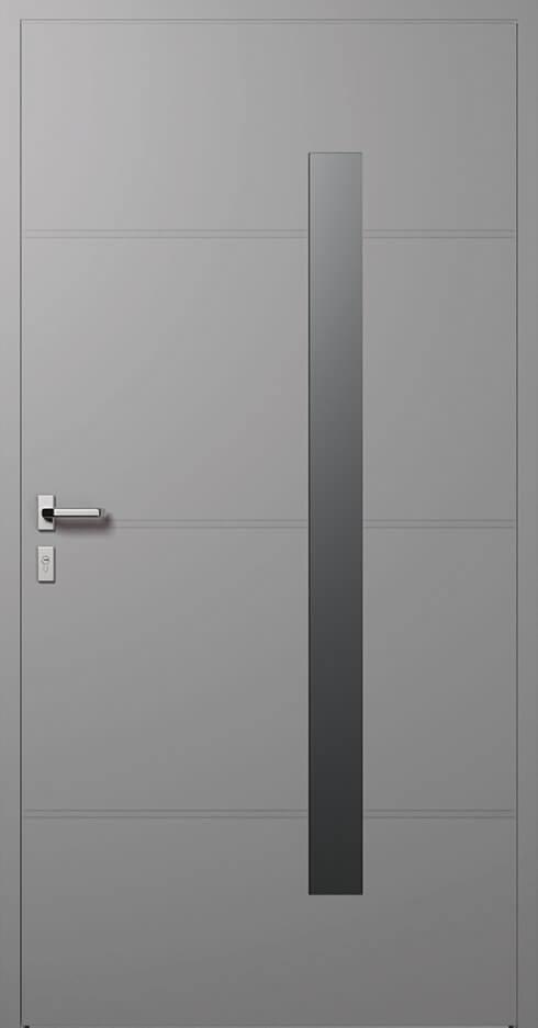 vchodové hliníkové dvere 413
