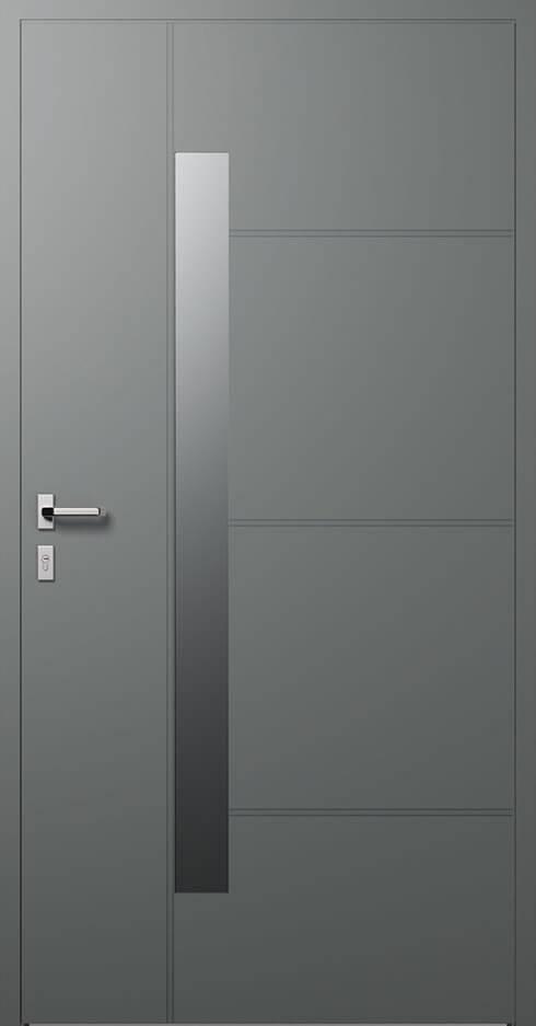 vchodové hliníkové dvere 414